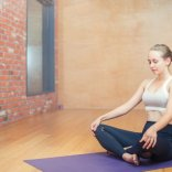 Yin and Hot Stone Restorative Yoga